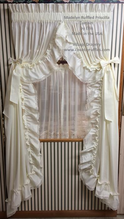 Country Ruffles At Village Discount Drapery